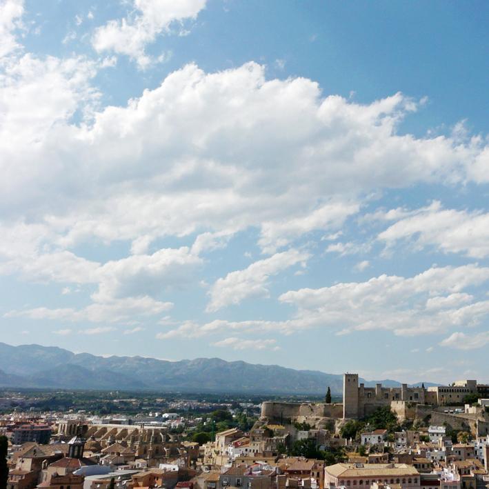Històia de Catalunya. Despuig. Vista de Tortosa