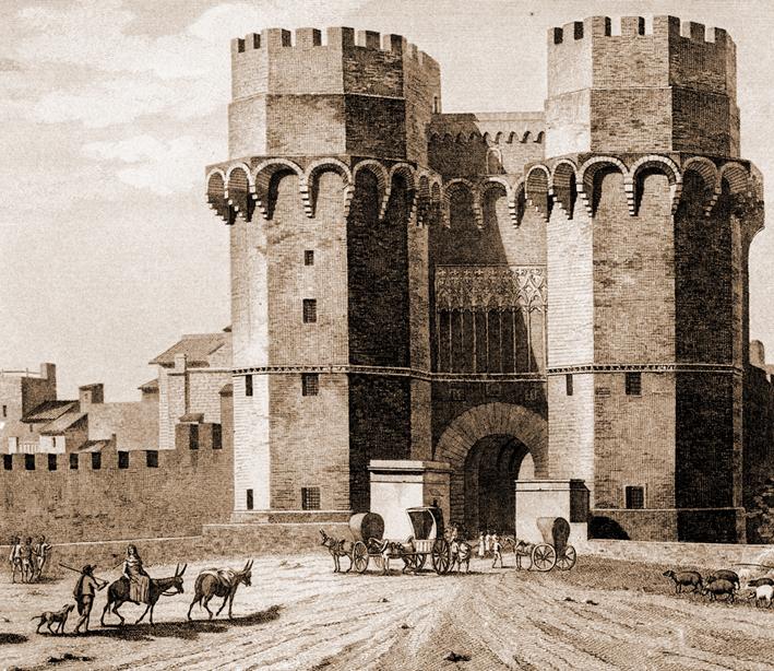 Història de Catalunya. Despuig. Porta dels Serrals. València